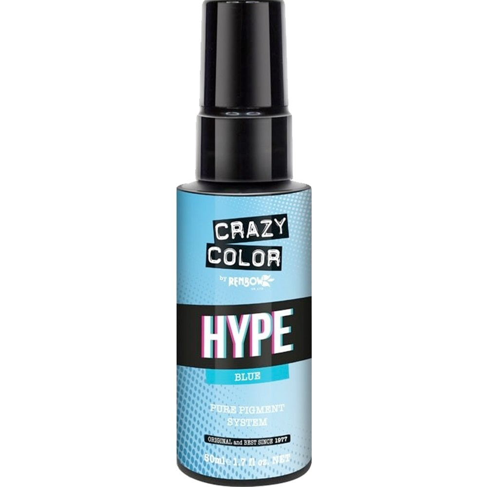 Crazy Color Hype Pure Pigment (Blue) 50 ml