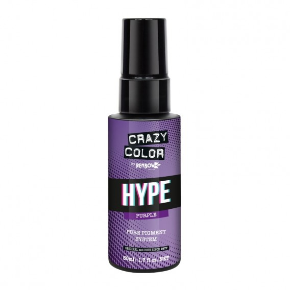Crazy Color Hype Pure Pigment (Purple) 50 ml