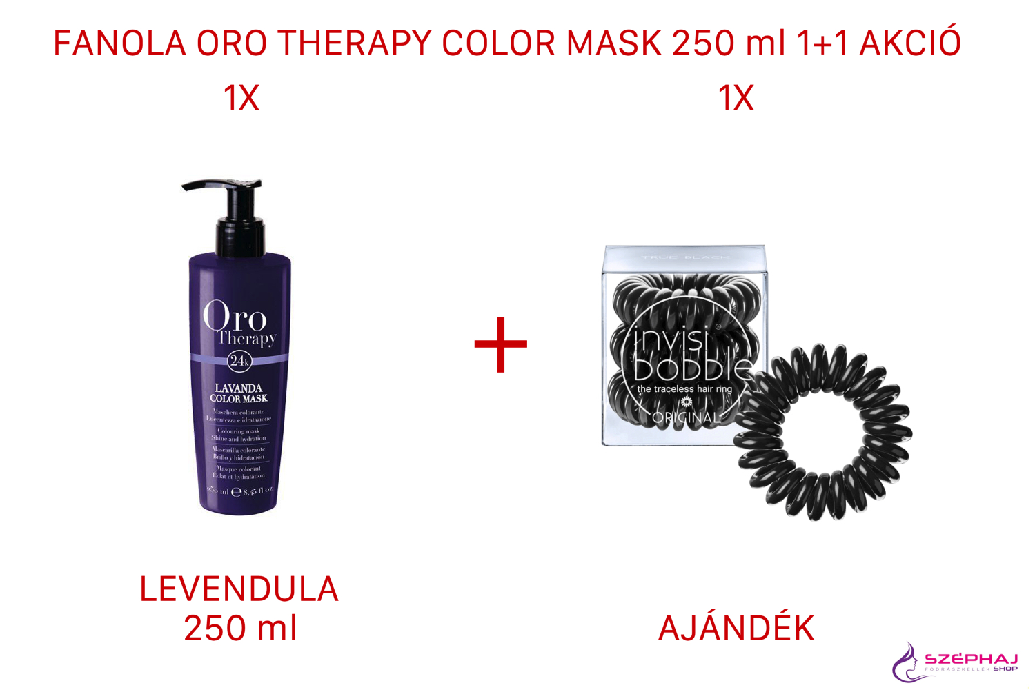 FANOLA Oro Therapy Color Mask 250 ml (LEVENDULA) 1+1 AKCIÓ