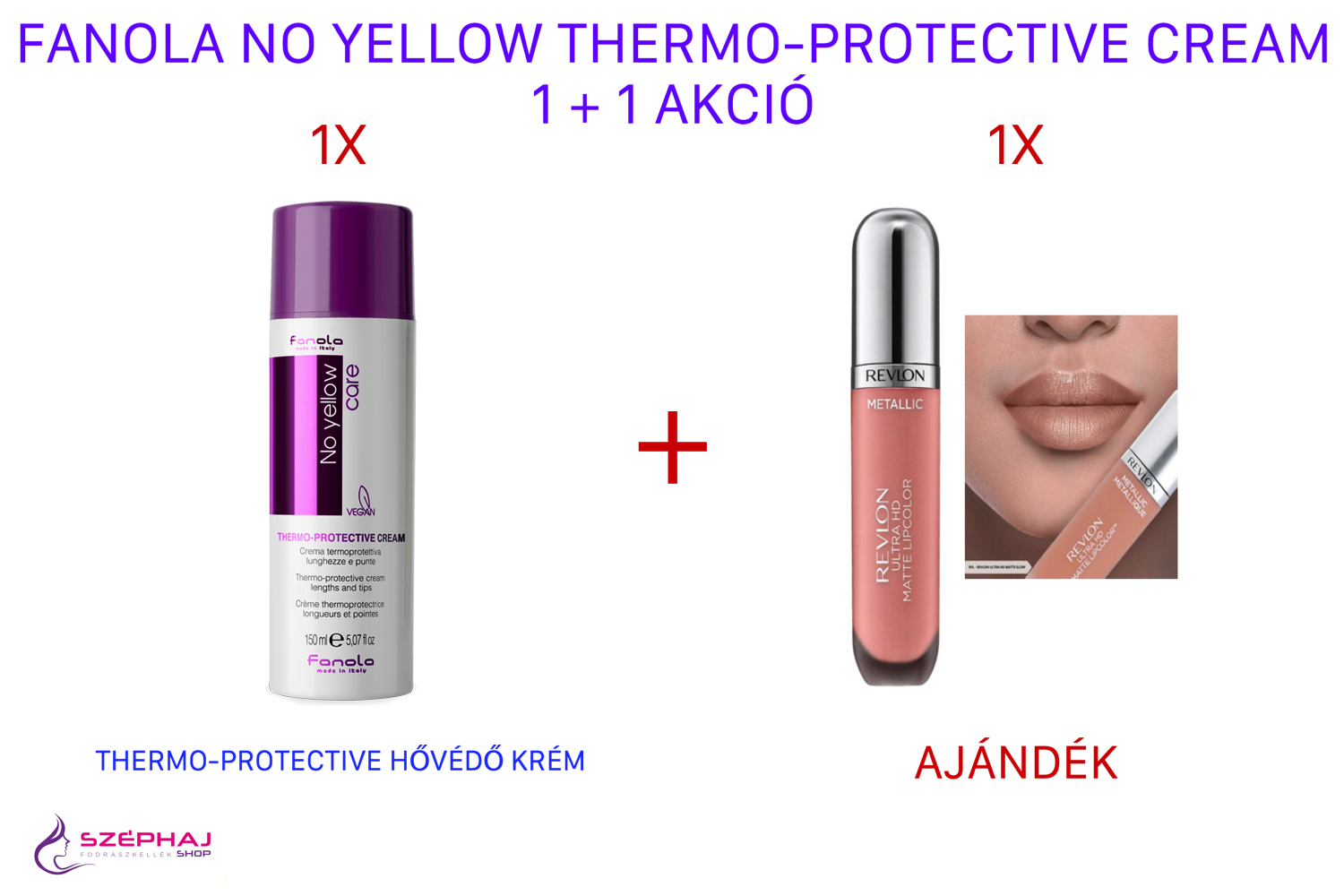 FANOLA No Yellow Thermo-Protective Cream 150 ml 1+1 AKCIÓ