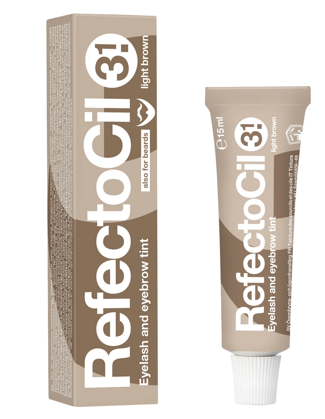 RefectoCil Szempilla- és szemöldökfesték 3.1 (Light Brown) 15 ml