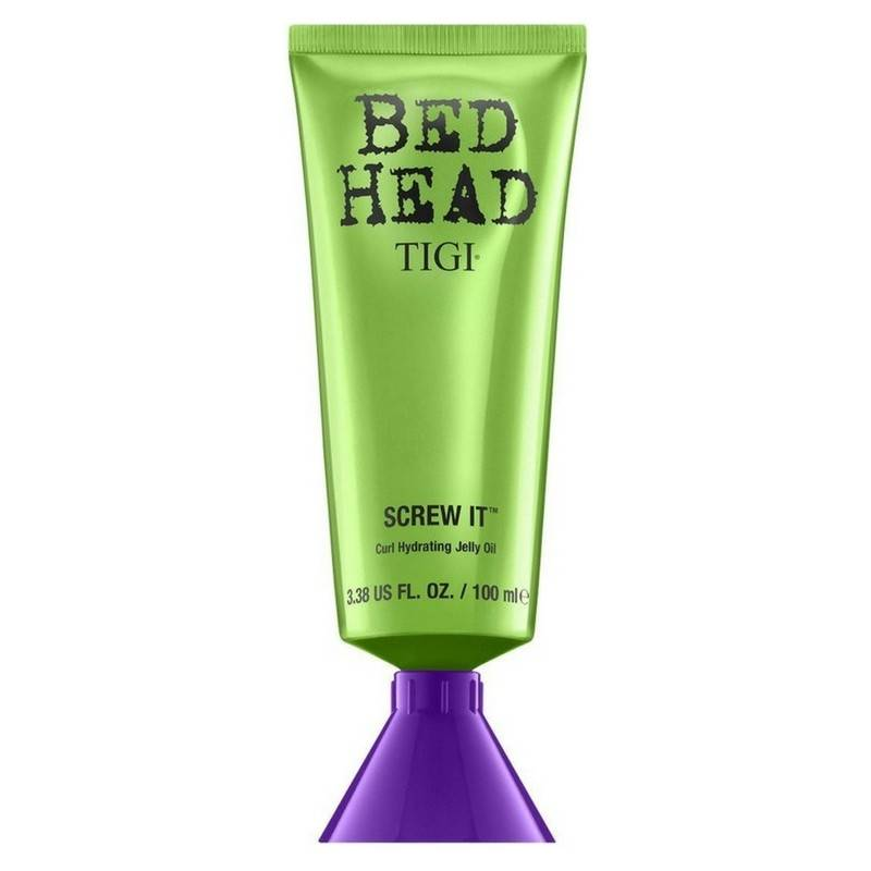 Tigi Bed Head Screw It 100 ml - Hidratáló géles olaj hullámos hajra