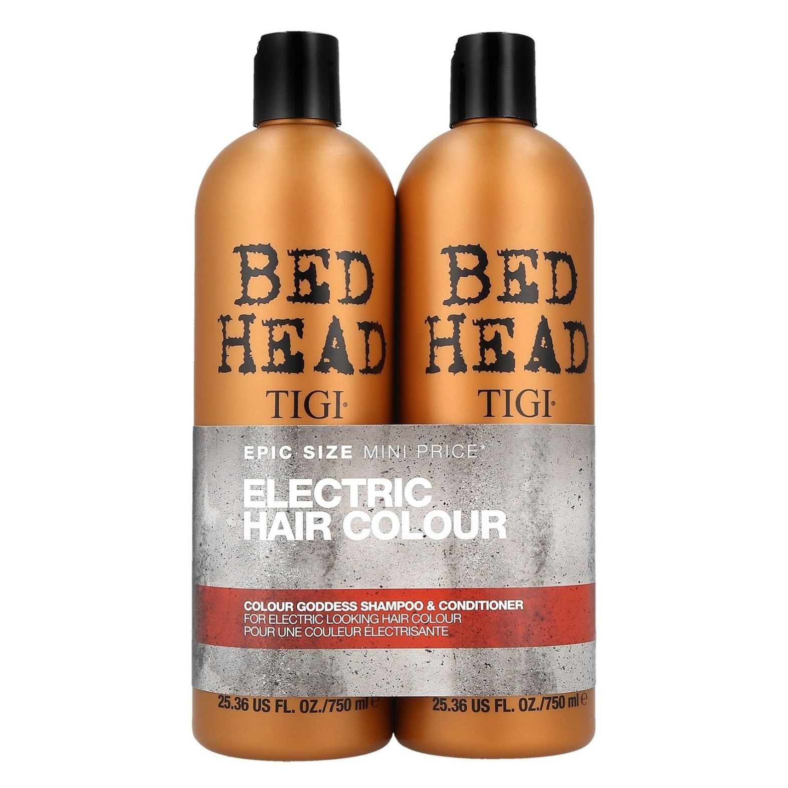 Tigi Bed Head Color Goddiess Shampoo 750 ml & Conditioner 750 ml szett