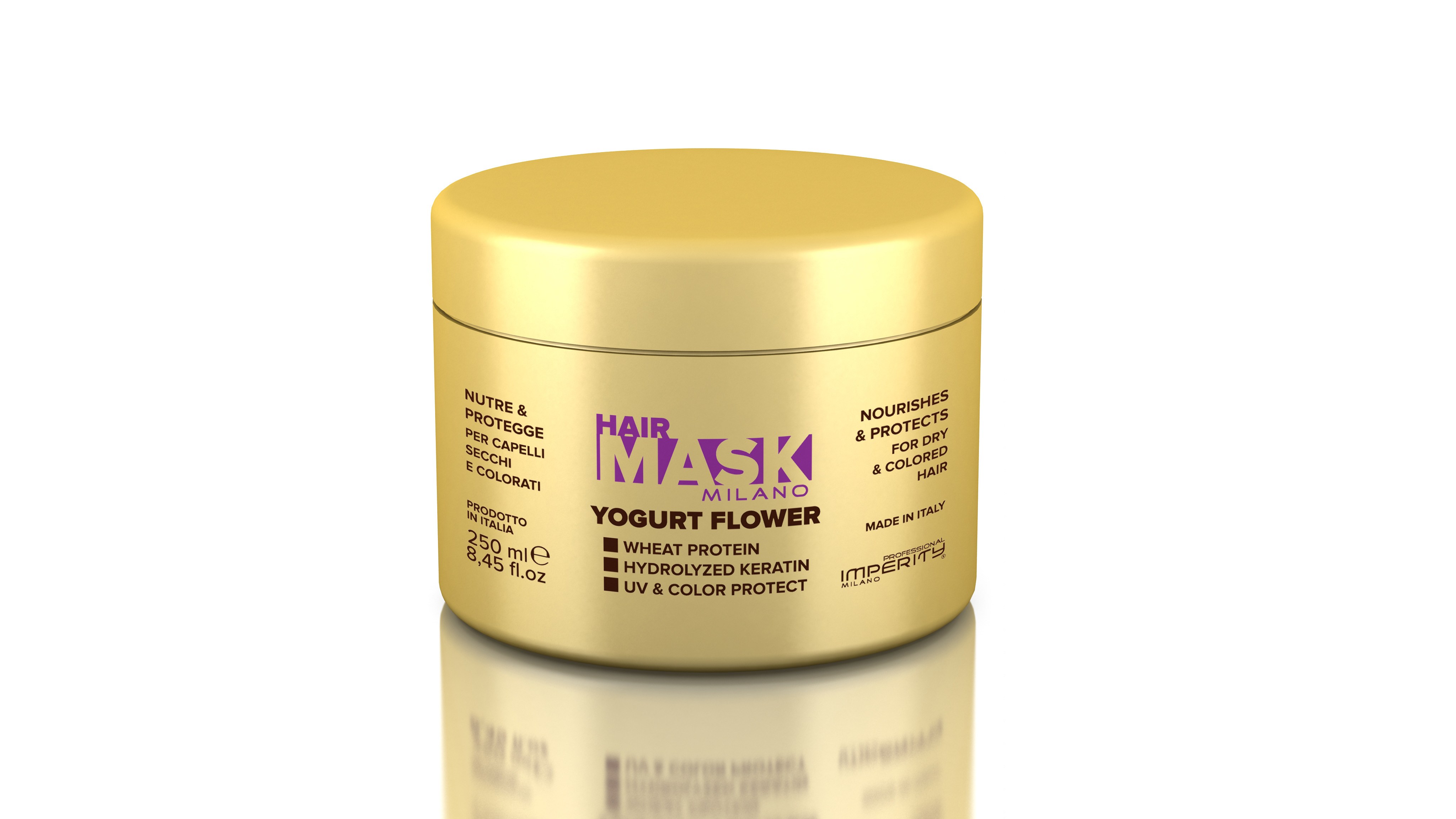 IMPERITY Milano Hair Mask Yogurt Flower 250 ml