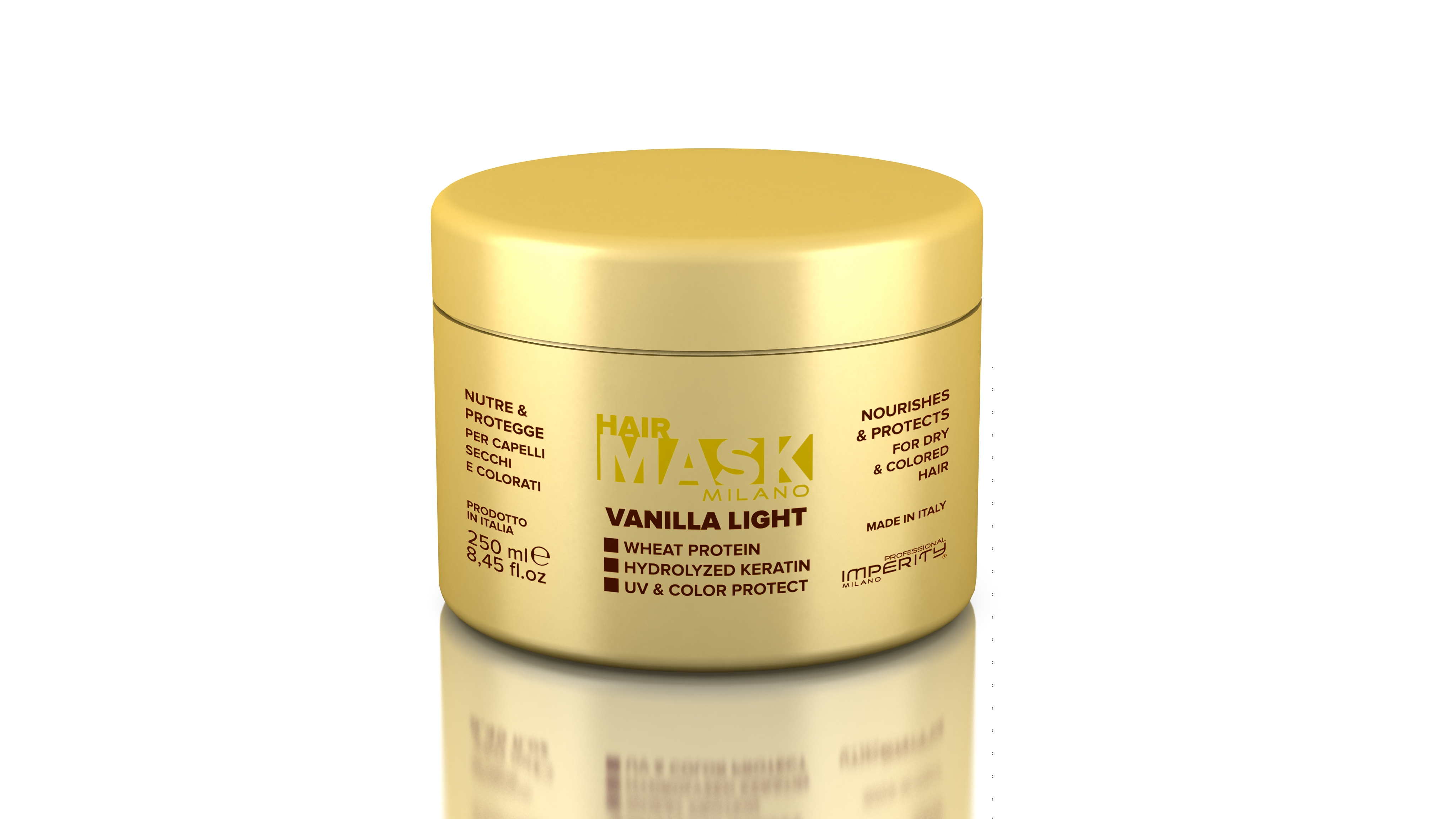 IMPERITY Milano Hair Mask Vanilla Light 250 ml