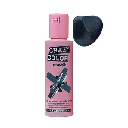 Crazy Color 46 Pine Green 100 ml (Fenyőfa zöld)