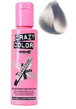 Crazy Color 028 Platinum 100 ml (Platina)