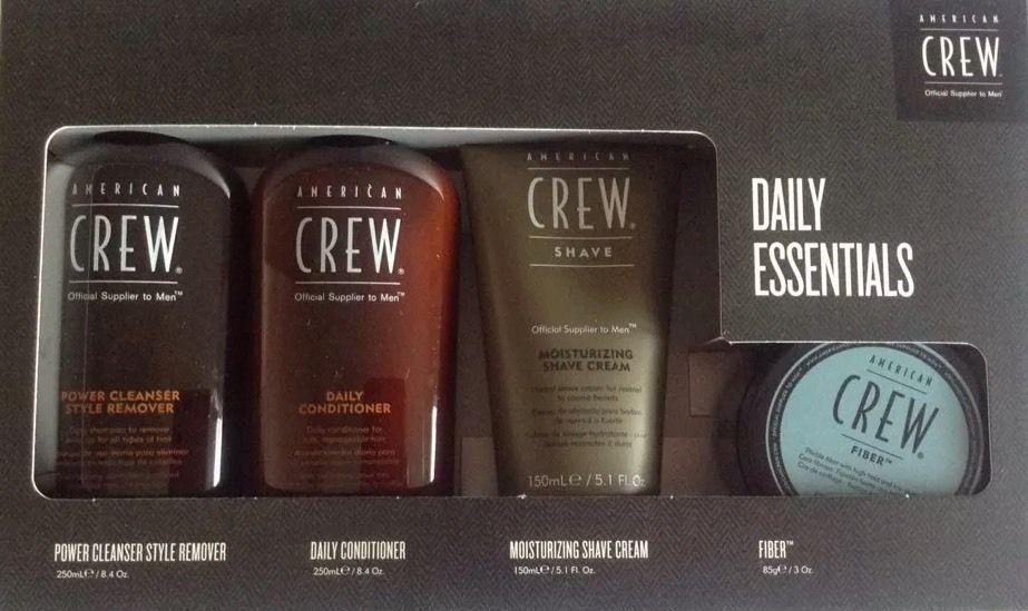 American Crew Daily Essentials Quad