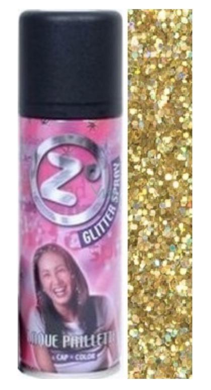 Csillám spray (arany) 125 ml